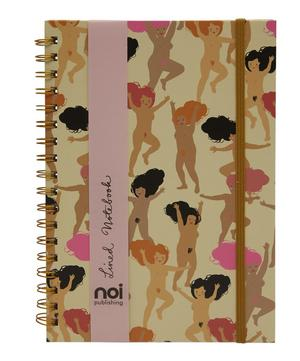 Naked Ladies Lined Notebook