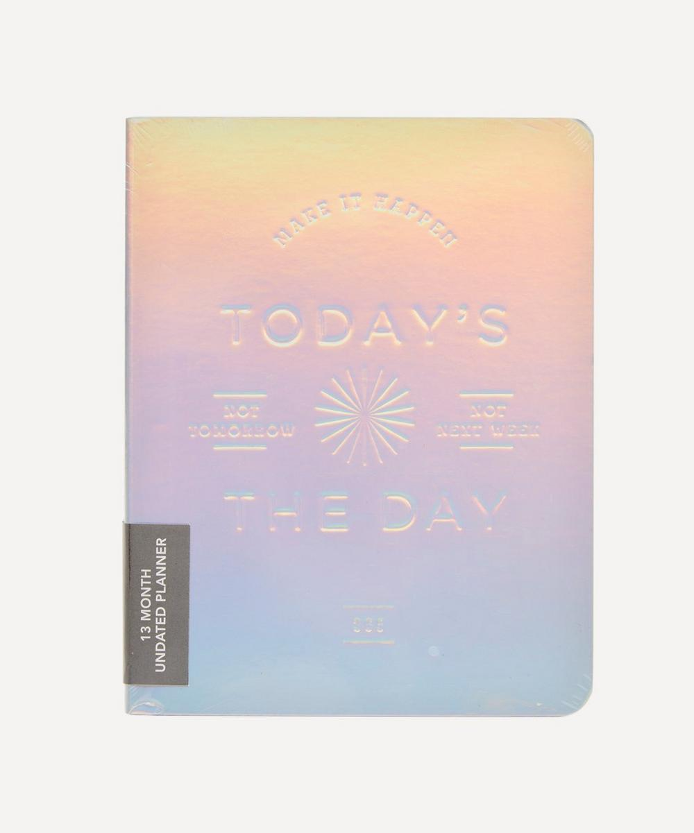 Abrams and Chronicle Books - Today's the Day Holographic Deluxe Pocket Undated Planner