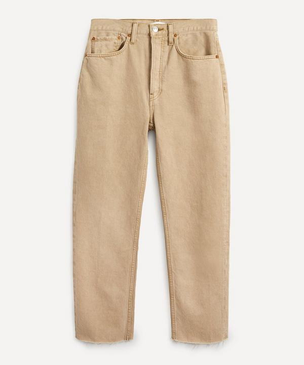 RE/DONE - Stove Pipe Jeans