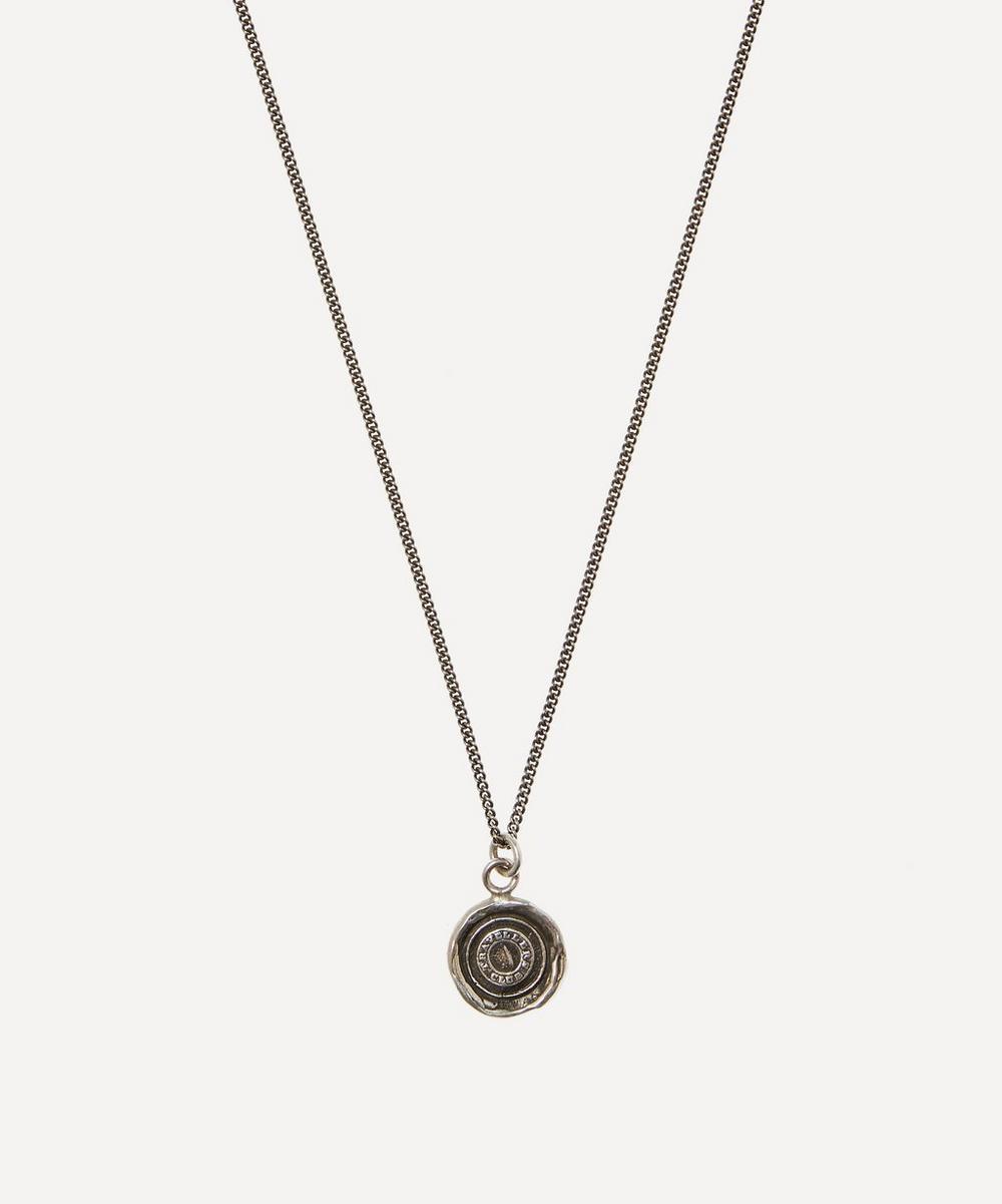 Pyrrha - Sterling Silver Safe Travels Necklace