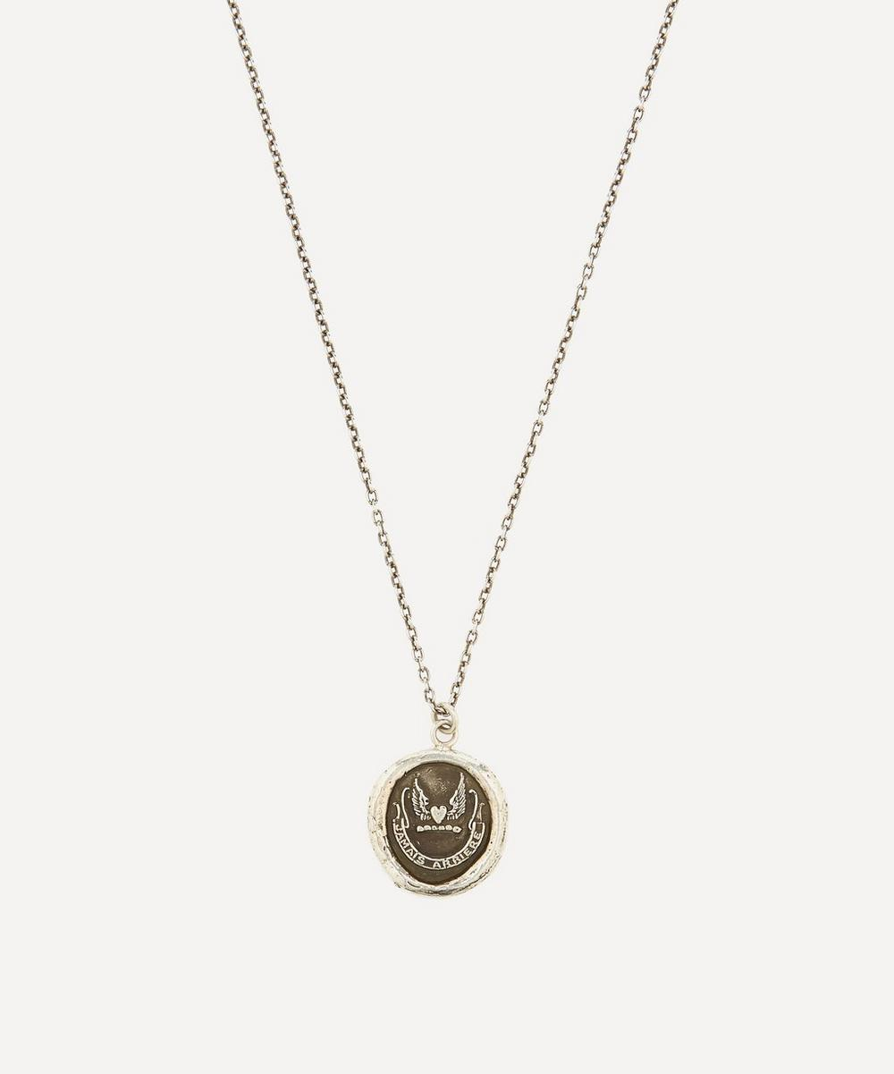 Pyrrha - Silver Never Look Back Necklace