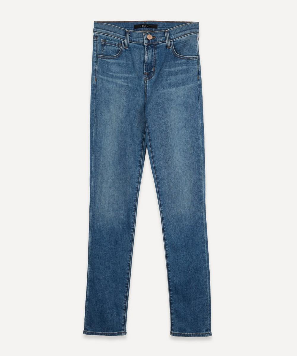 J Brand - Ruby 30 Crop High Rise Cigarette Jeans
