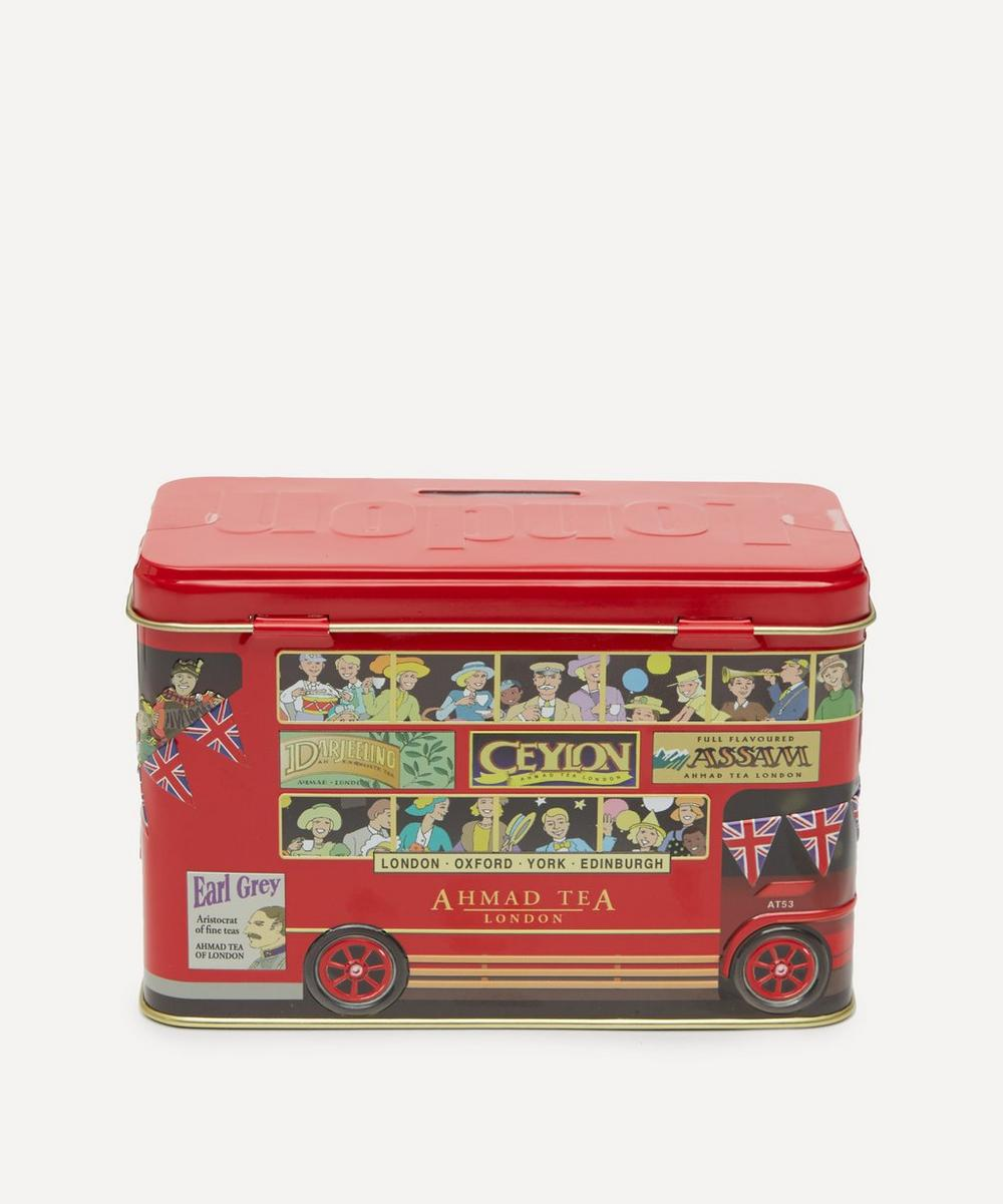 Ahmad Tea - London Bus Money Box Tea Caddy 40g