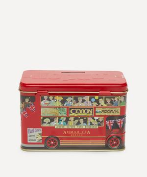 London Bus Money Box Tea Caddy 40g