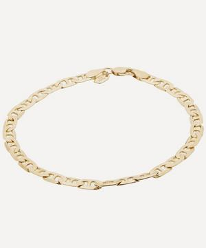 Gold-Plated Large Carlo Chain Bracelet