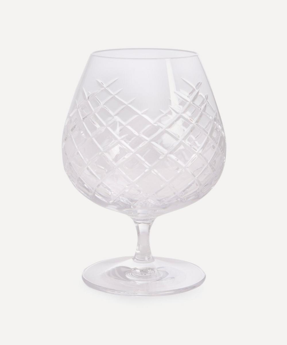 Soho Home - Barwell Cut Crystal Brandy Glass