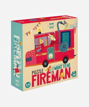 I Want to be a Fireman Puzzle