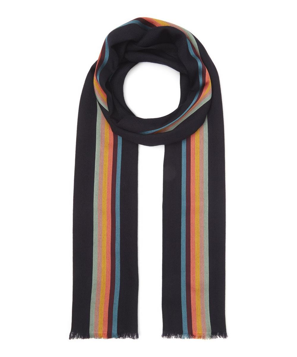 Paul Smith - Artist Stripe Middle Scarf