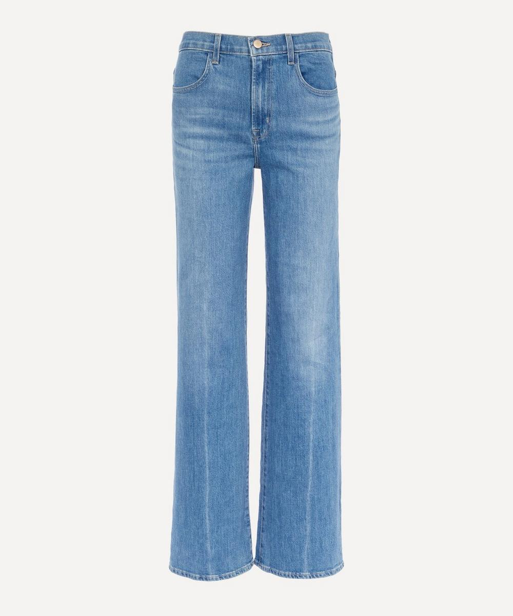 J Brand - Joan High-Rise Wide Leg Jeans