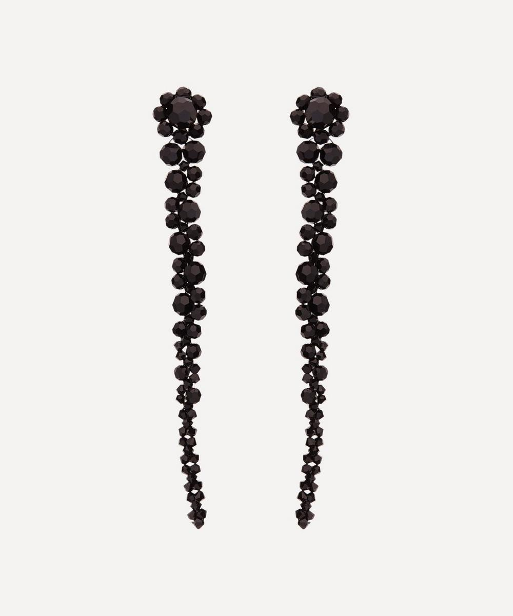 Simone Rocha - Drip Bead Long Drop Earrings