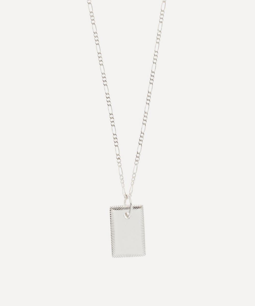 Maria Black - Silver Eliza Pendant Necklace