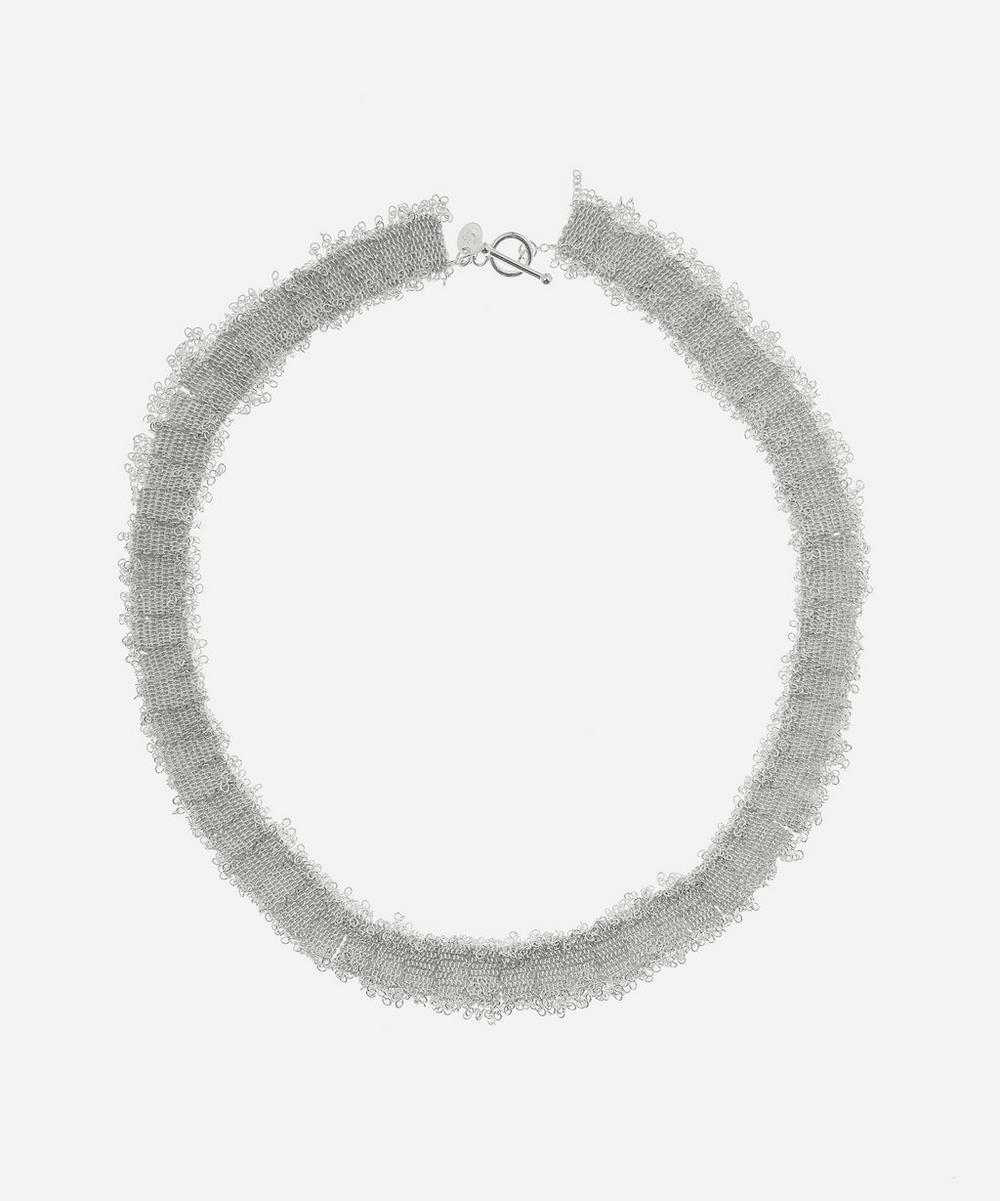 Stephanie Schneider - Silver Silk Chain Necklace