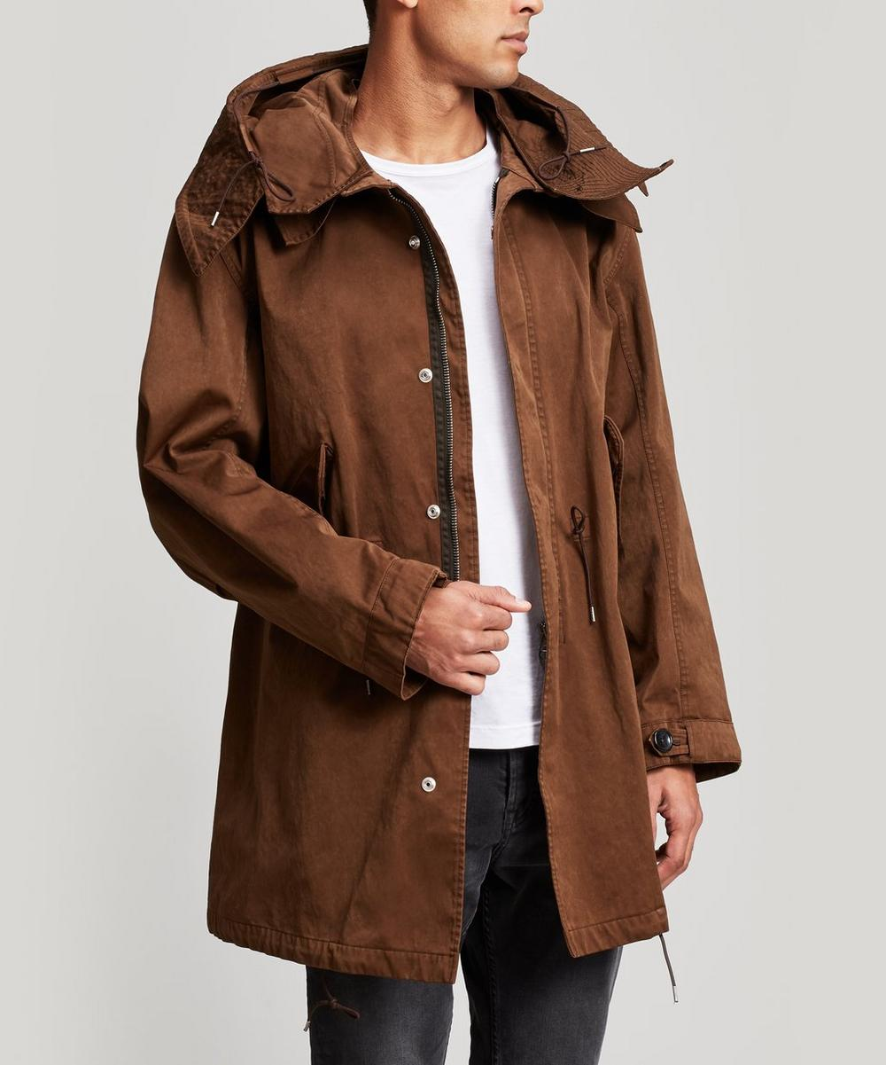 Ten c - Long Hooded Parka Coat
