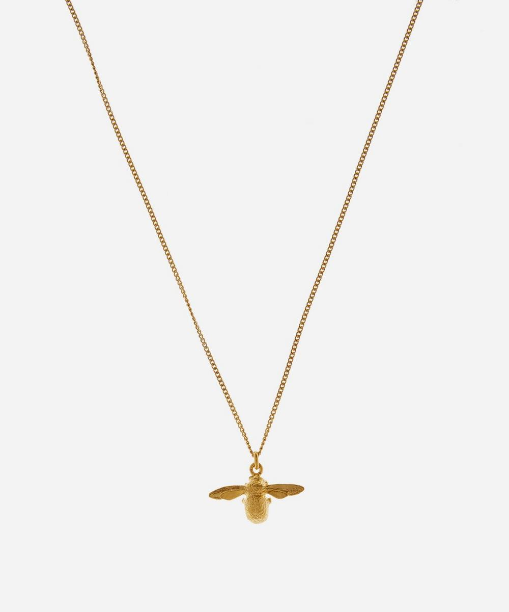 Alex Monroe - Gold-Plated Bee Children's Necklace