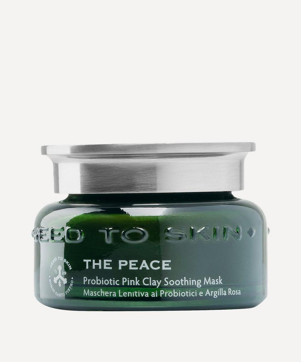 SEED TO SKIN - The Peace Probiotic Pink Clay Soothing Mask 50ml