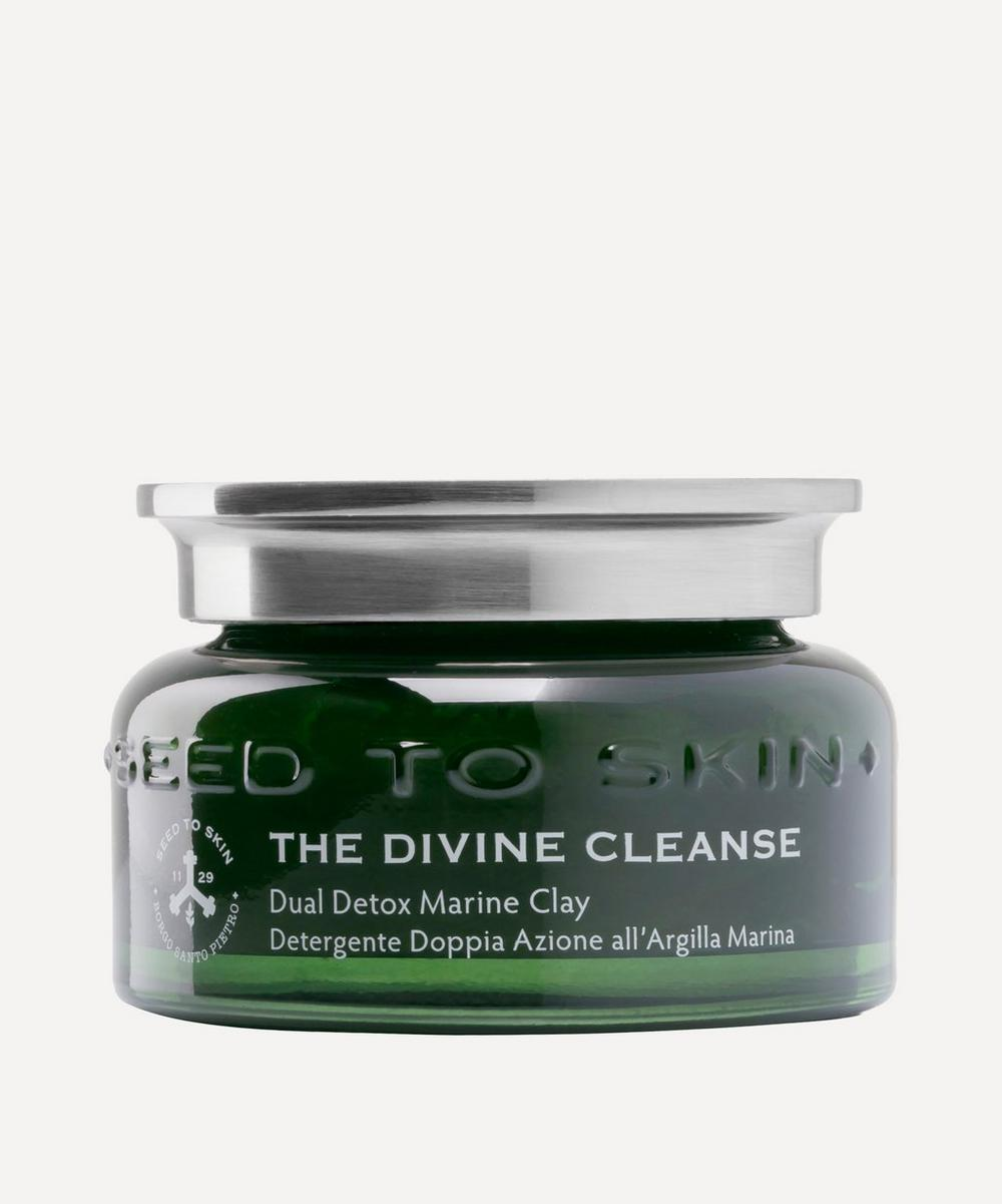 SEED TO SKIN - The Divine Cleanse Dual Detox Marine Clay Cleansing Gel 100ml