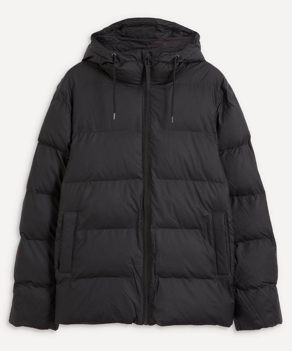 RAINS - Short Waterproof Thermal Puffer Jacket