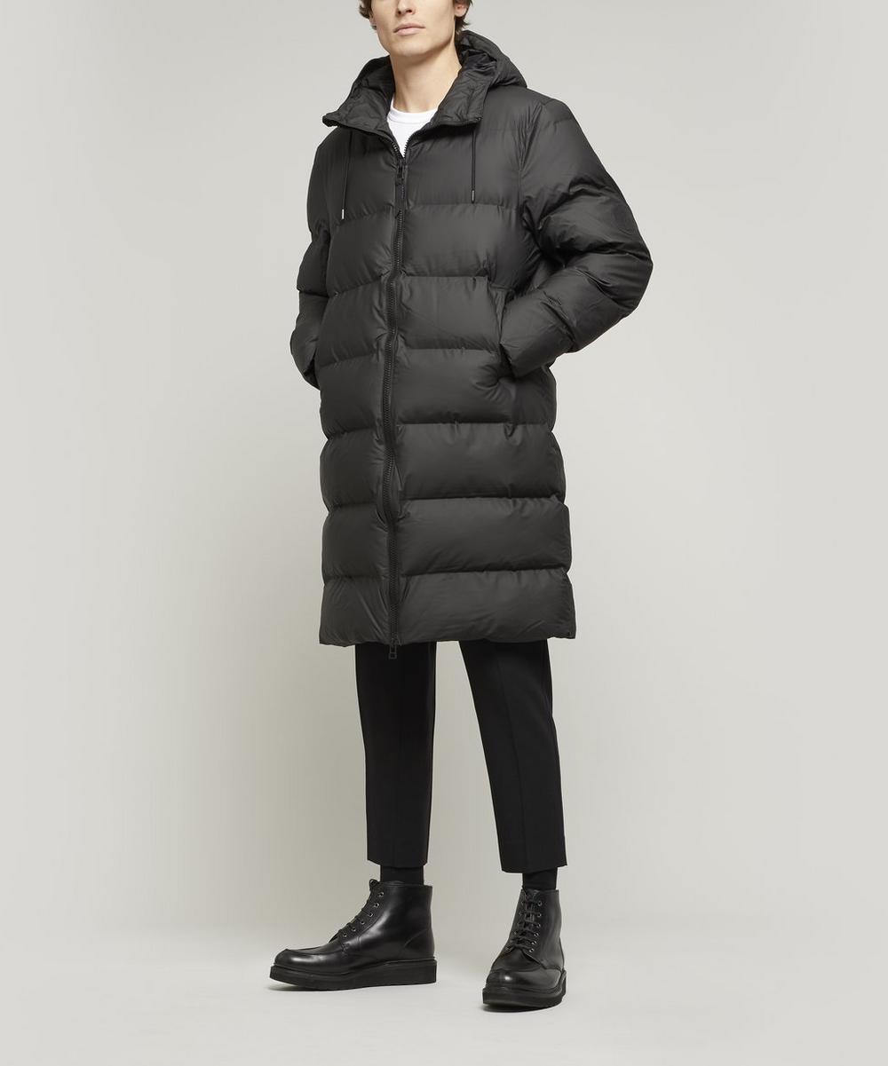 RAINS - Long Waterproof Thermal Puffer Coat