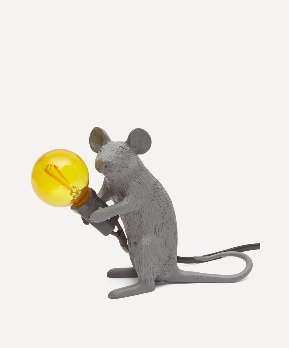 Seletti - Sitting Mouse Lamp