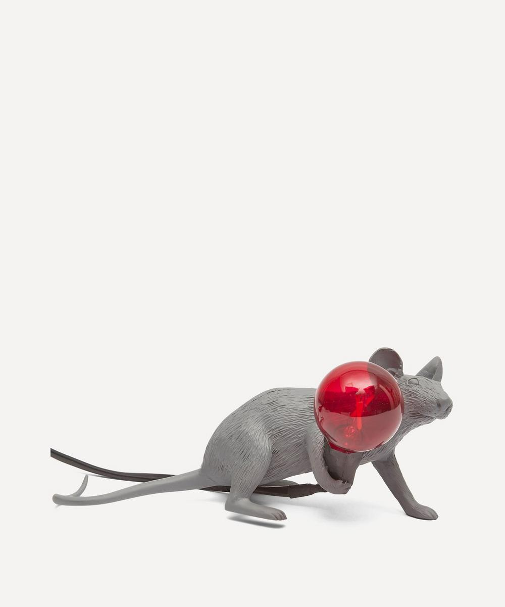 Seletti - Lying Down Mouse Lamp