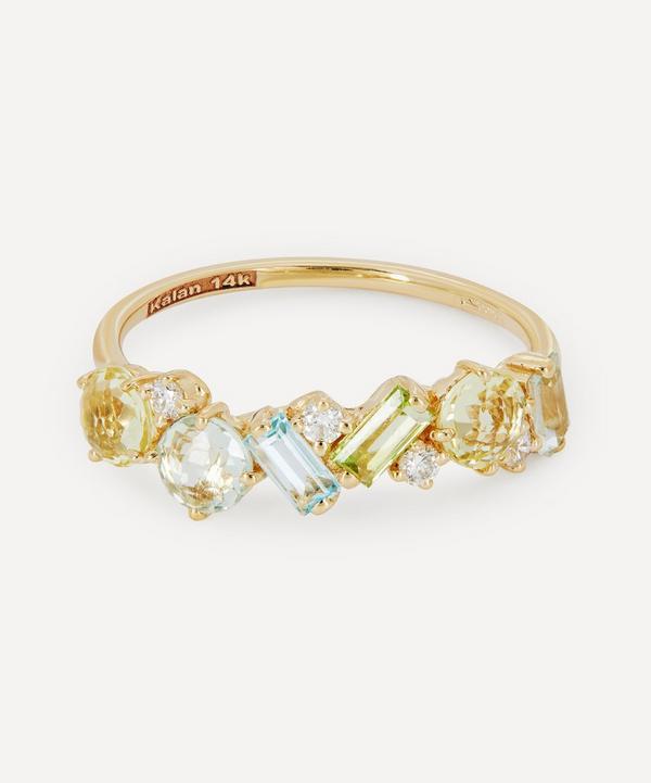 Suzanne Kalan - Gold Multi-Stone Ring