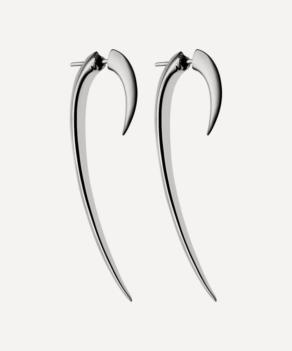 Shaun Leane - Silver Large Hook Earrings