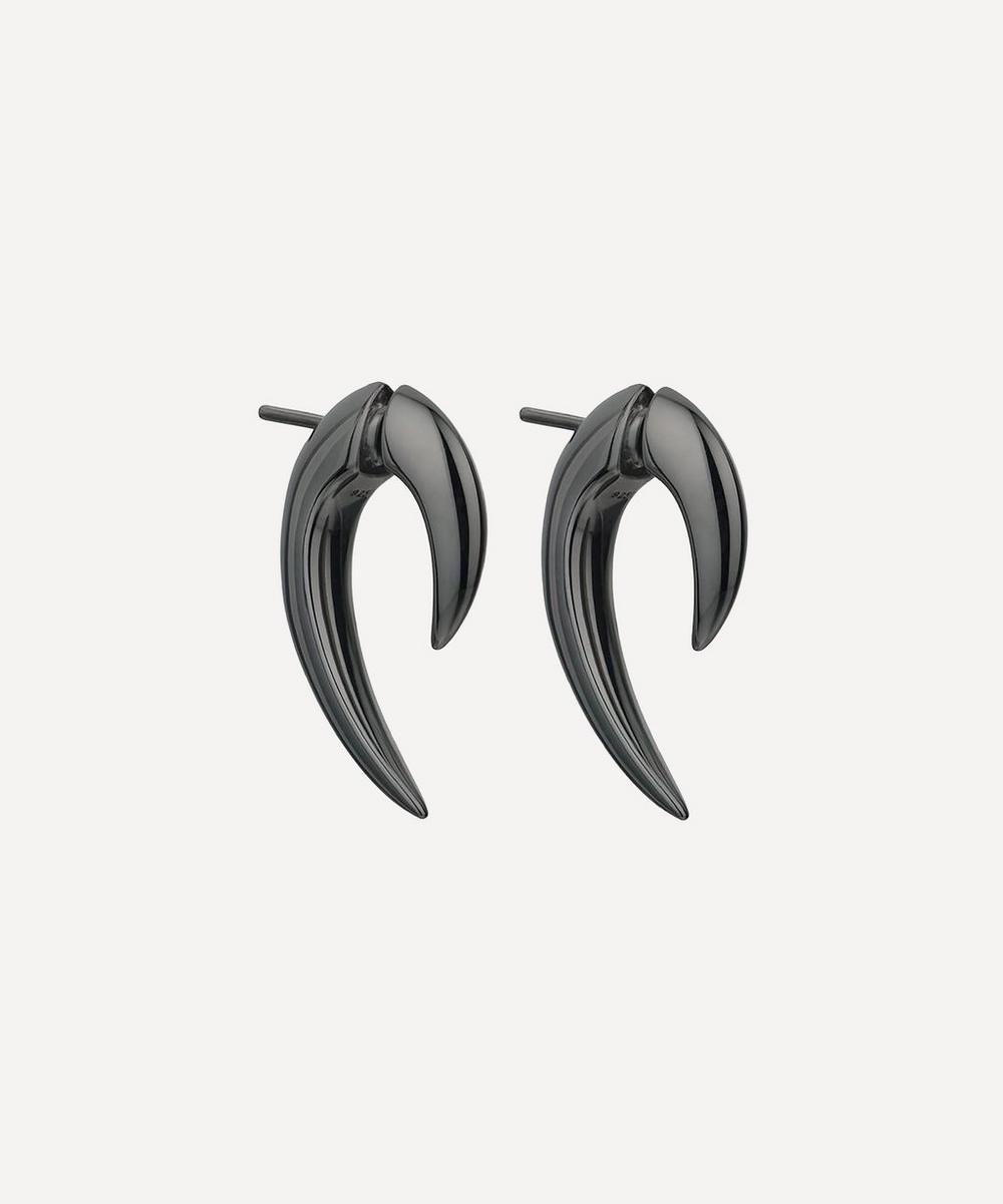 Shaun Leane - Black Silver Rhodium Talon Earrings