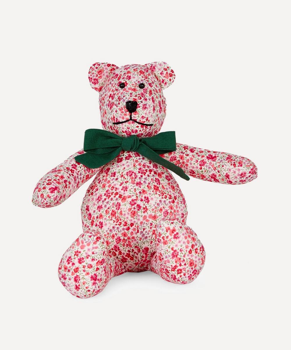 Grin & Bear - Small Phoebe Liberty Print Bear
