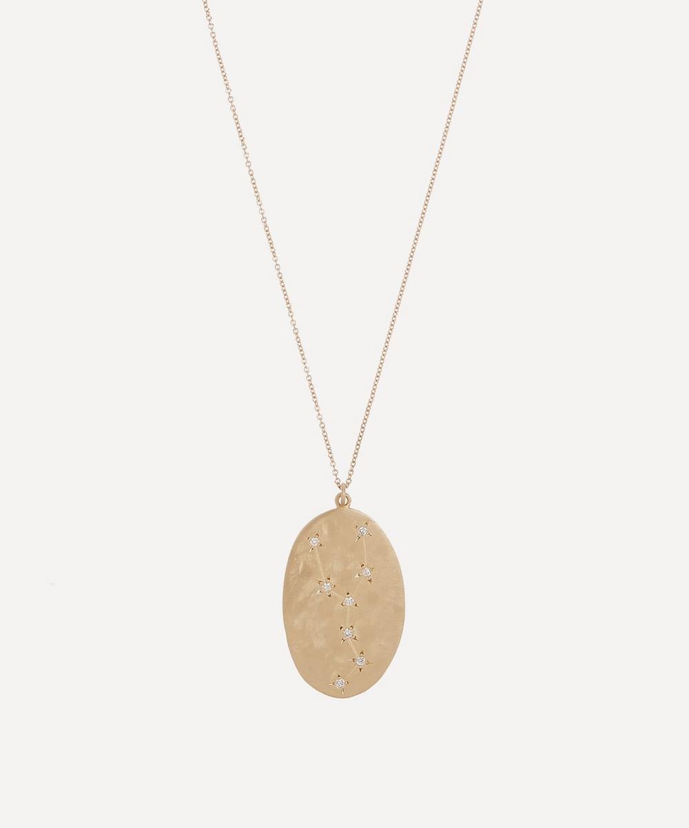 Brooke Gregson - Gold Taurus Astrology Diamond Necklace