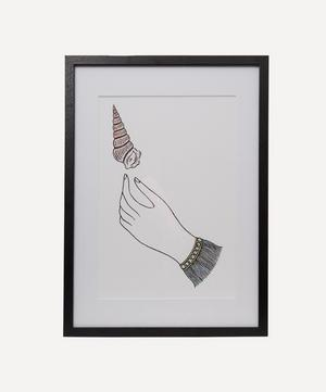 Fee Greening Shell Hand Framed Numbered Print