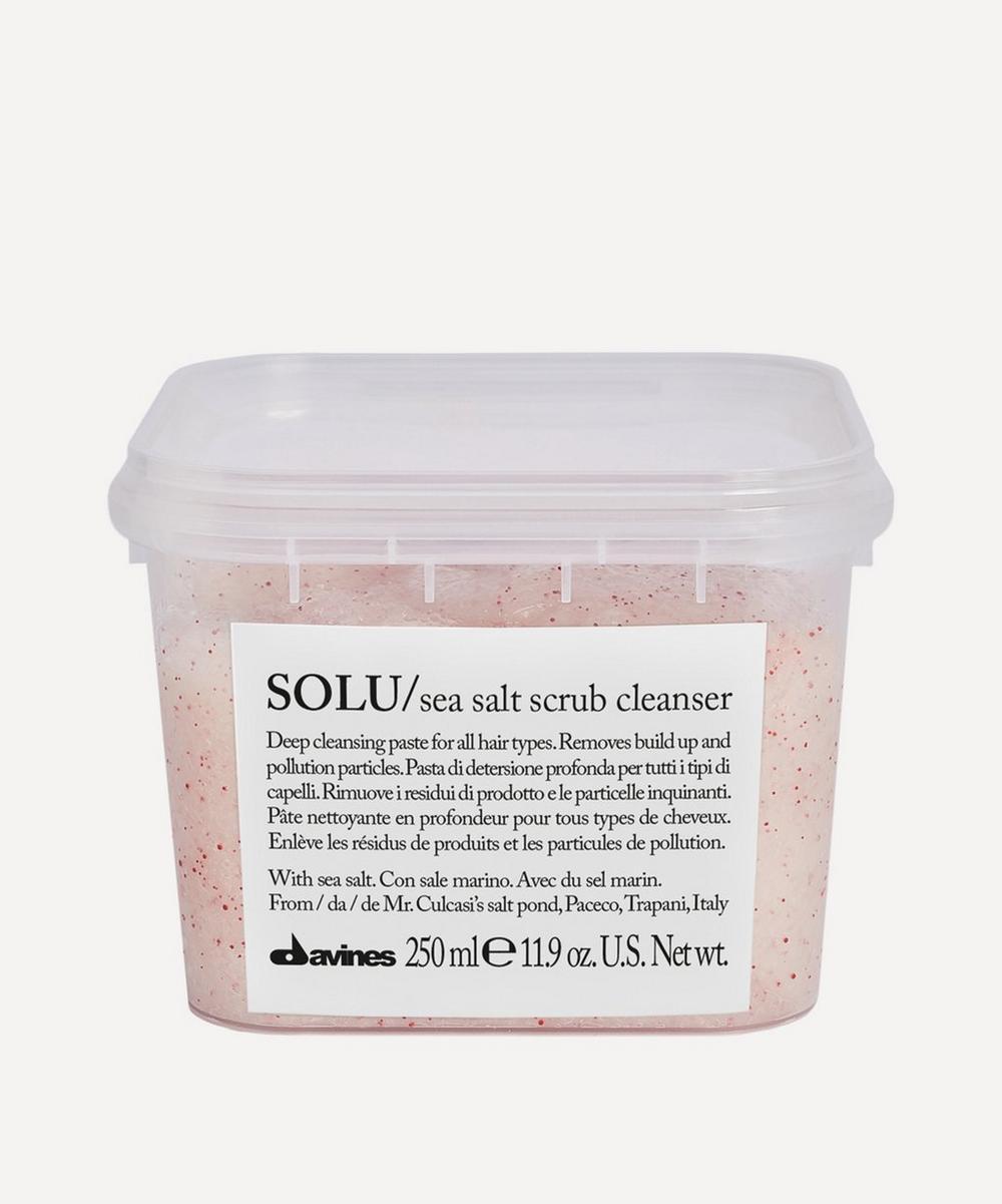 Davines - Solu Sea Salt Scrub Hair Cleanser 250ml