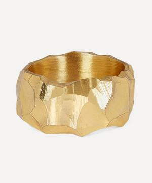 Gold Plated Vermeil Silver Rauk Narrow Ring