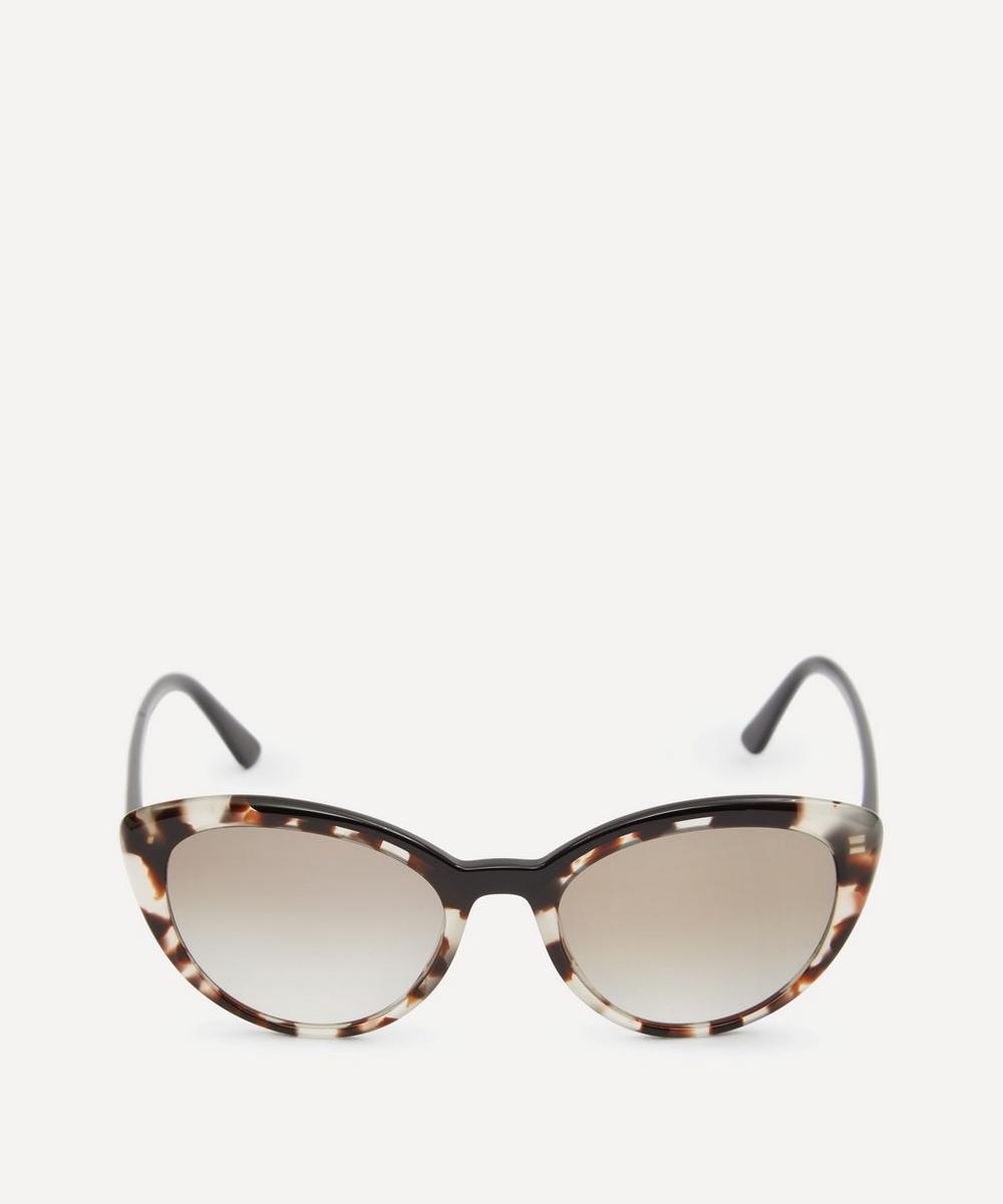 Prada - Ultravox Curved Cat-Eye Sunglasses