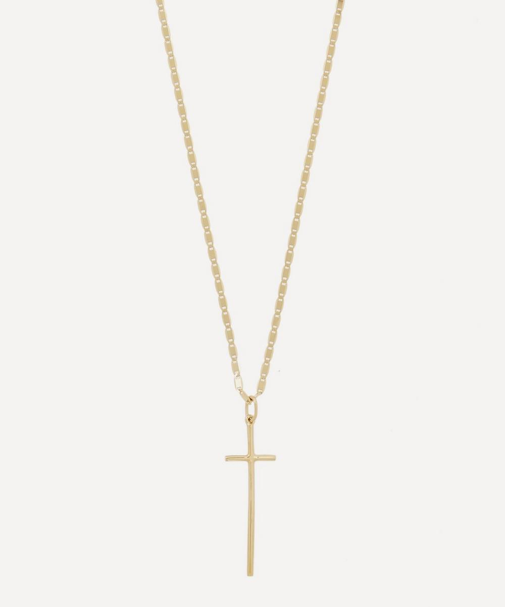Maria Black - Gold-Plated George Cross Necklace