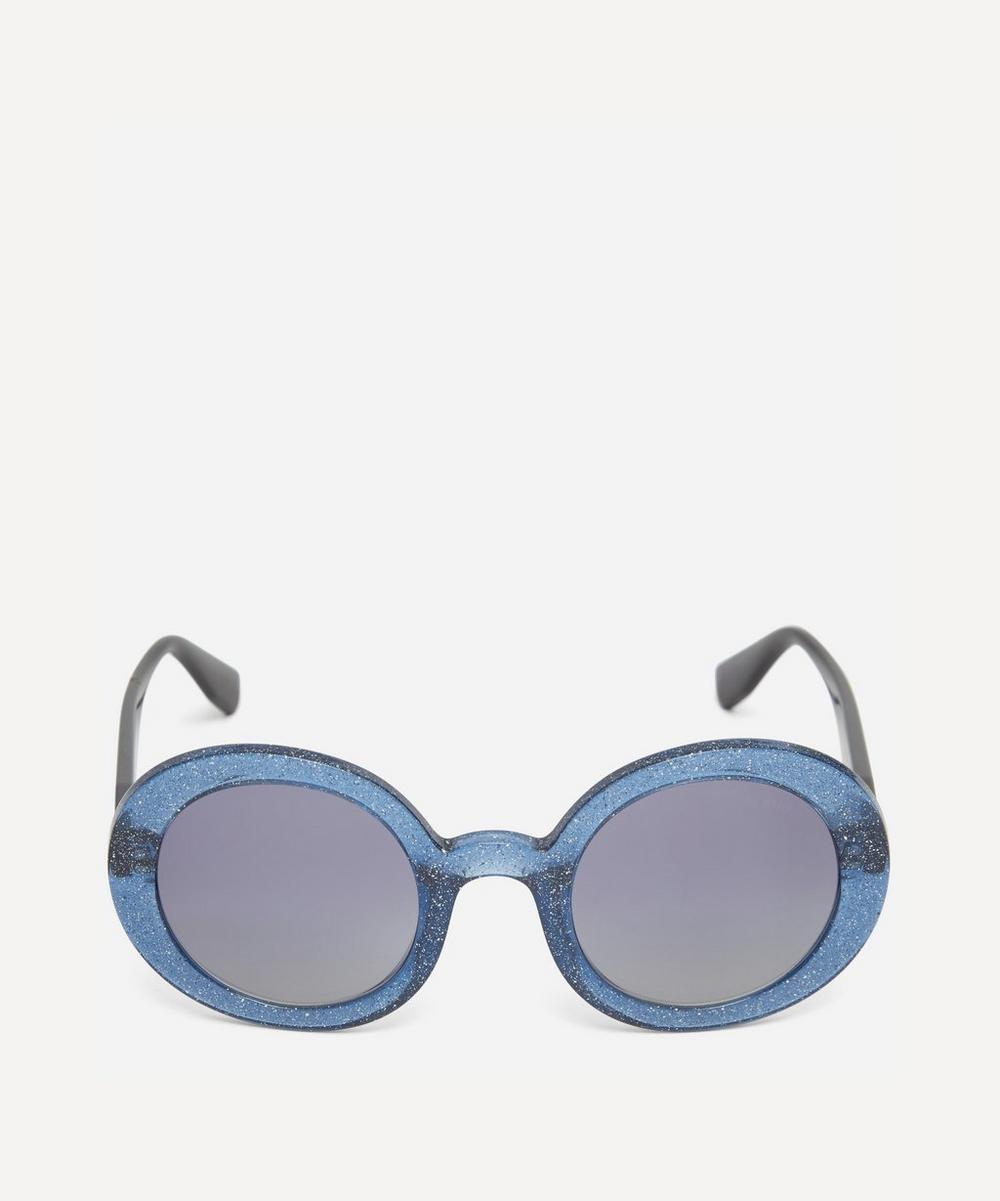 Miu Miu - Chunky Round Sunglasses