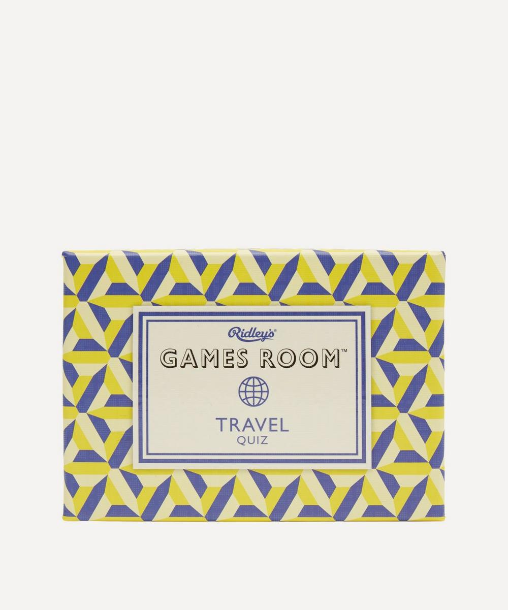 Unspecified - Games Room Travel Quiz