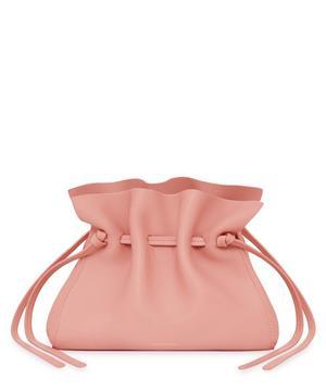 Mini Lambskin Protea Drawstring Bucket Bag