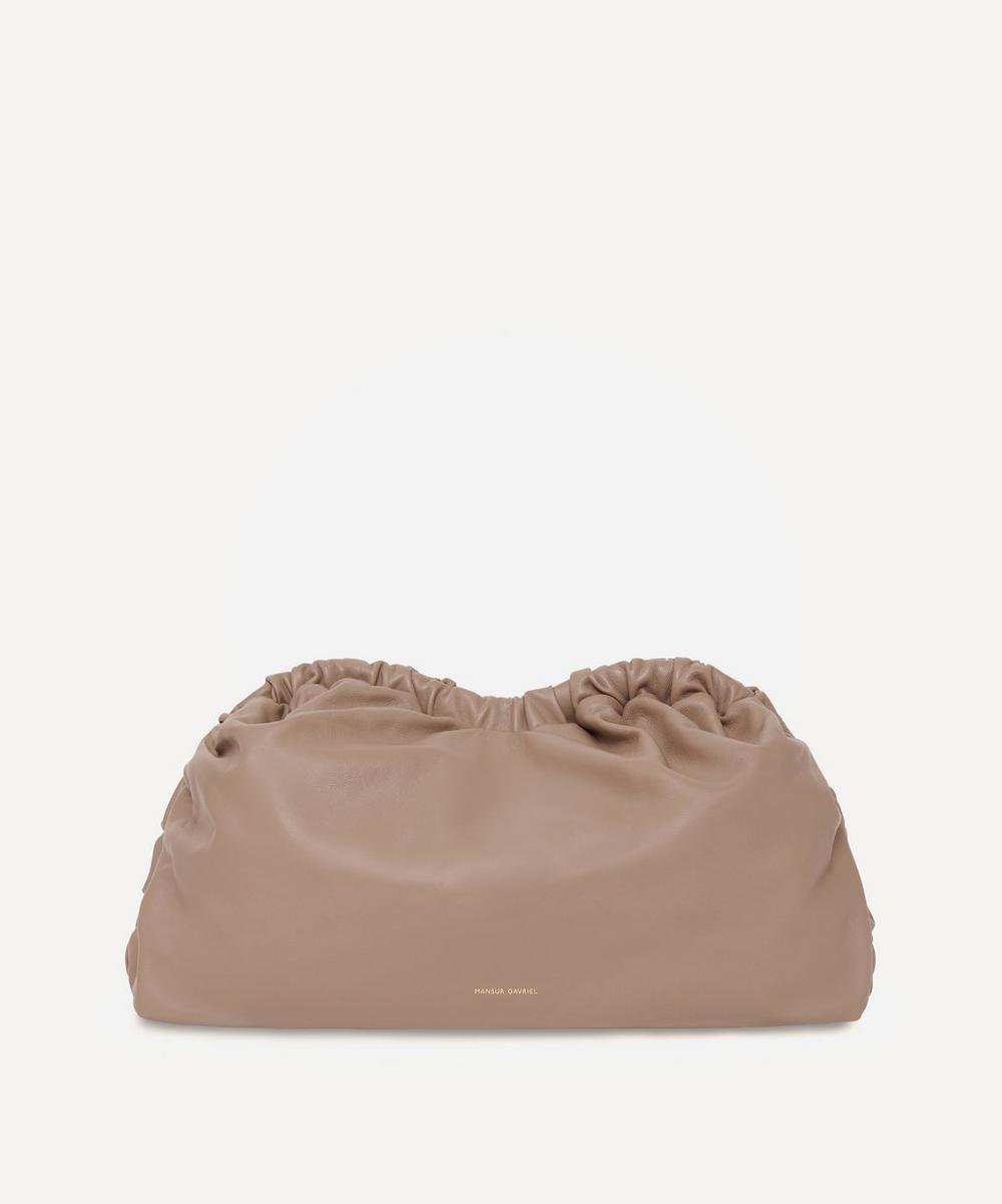 Mansur Gavriel - Leather Cloud Clutch