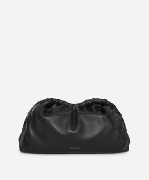 Leather Cloud Clutch