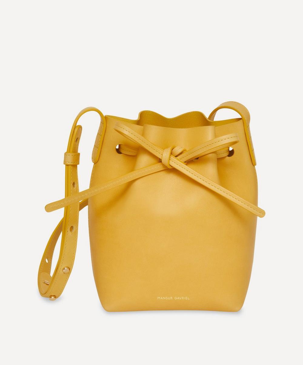 Mansur Gavriel - Mini Mini Leather Bucket Bag