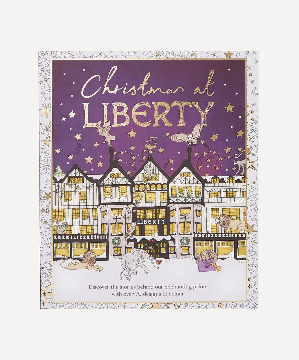 Liberty London - Christmas at Liberty Colouring Book