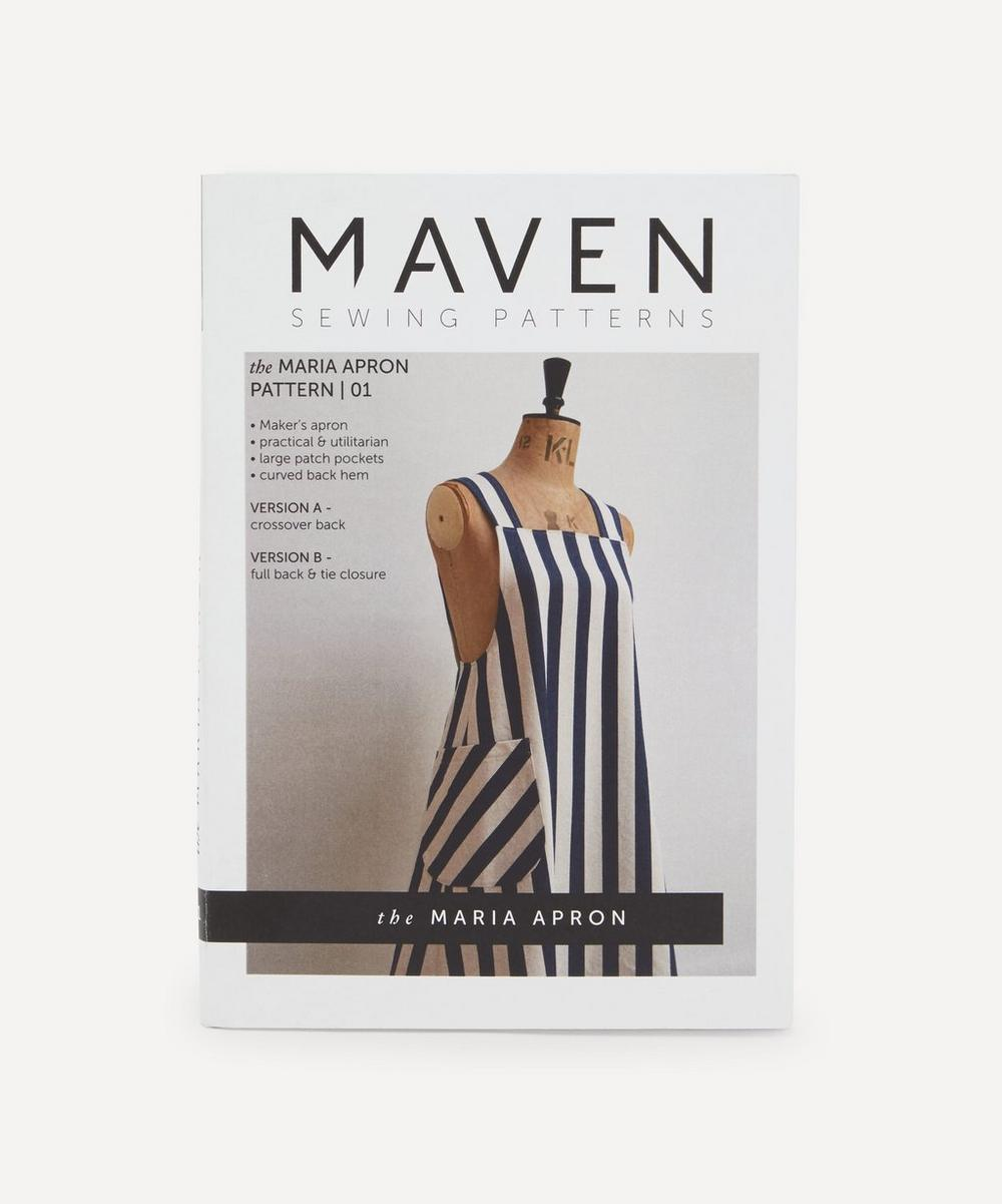 Maven Patterns - Maria Apron Pattern 01
