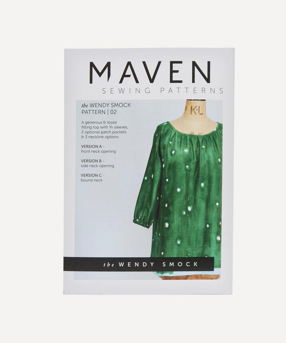 Maven Patterns - Wendy Smock Blouse Pattern 02