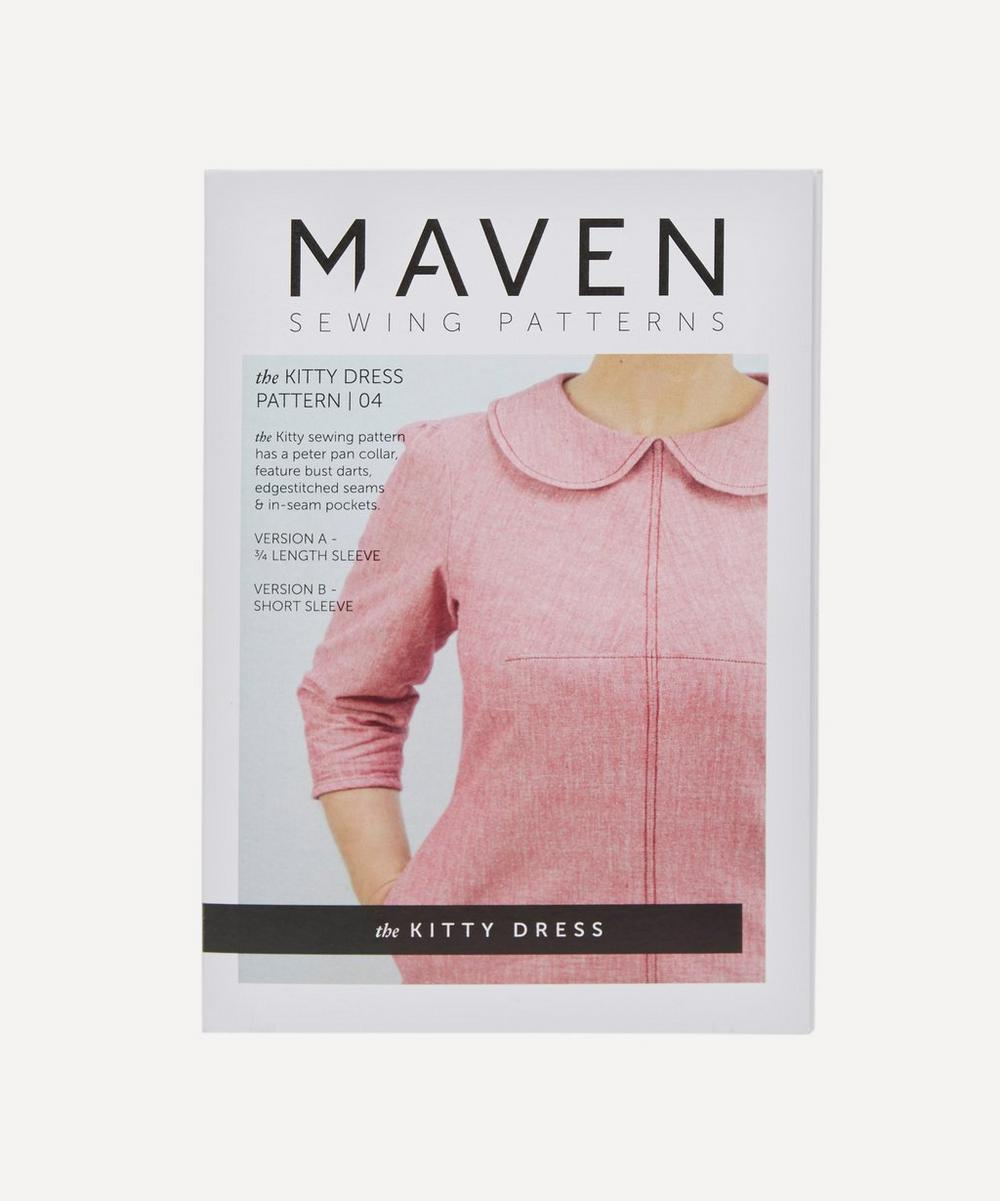 Maven Patterns - Kitty Dress Pattern 04