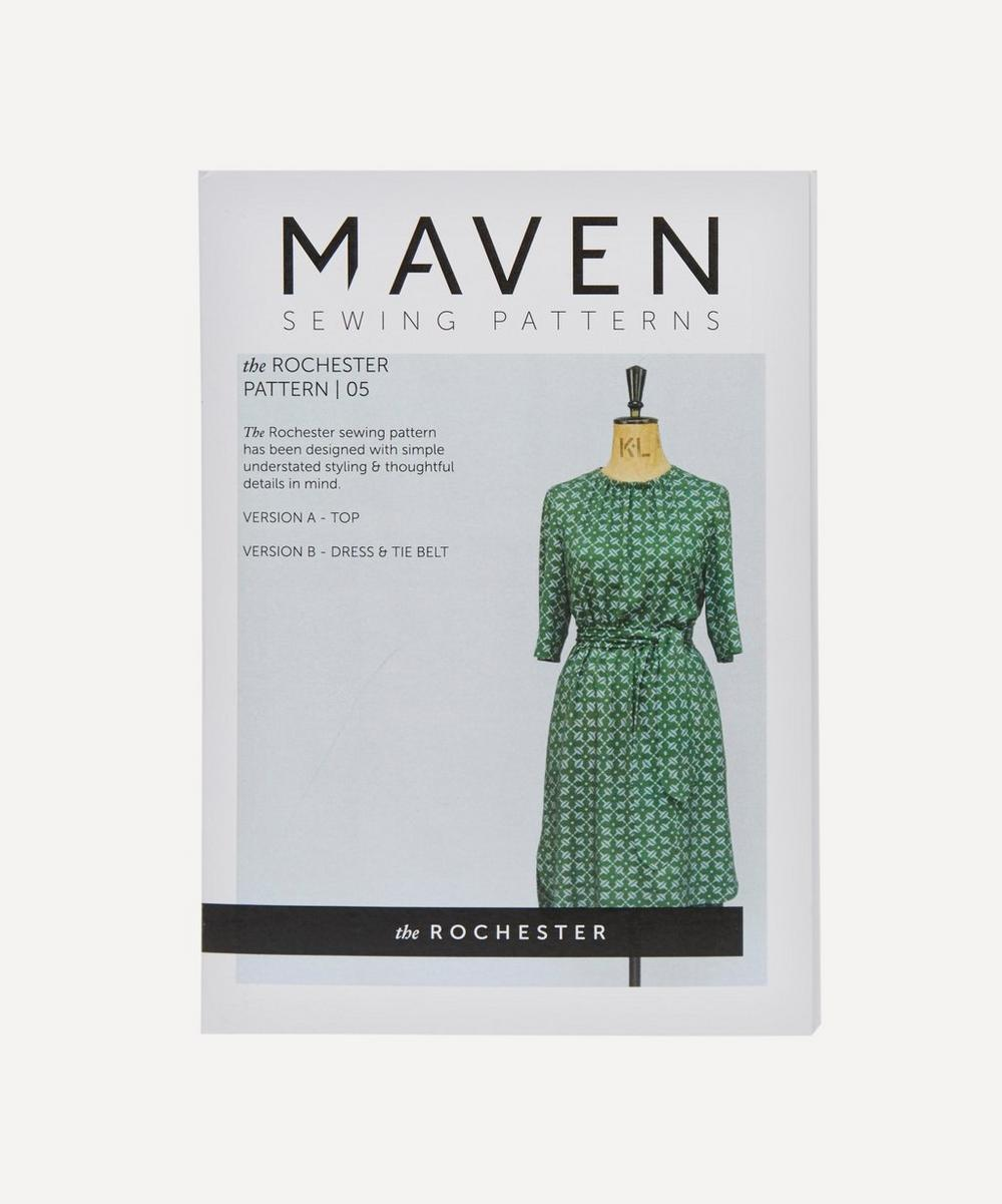 Maven Patterns - Rochester Dress Pattern 05