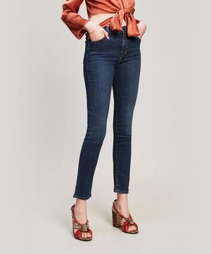 Ruby 30 Crop High Rise Cigarette Jeans