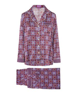 Harlequin Iphis Silk Satin Pyjama Set
