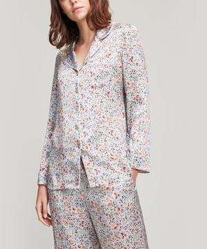 Delilah Silk Satin Pyjama Set