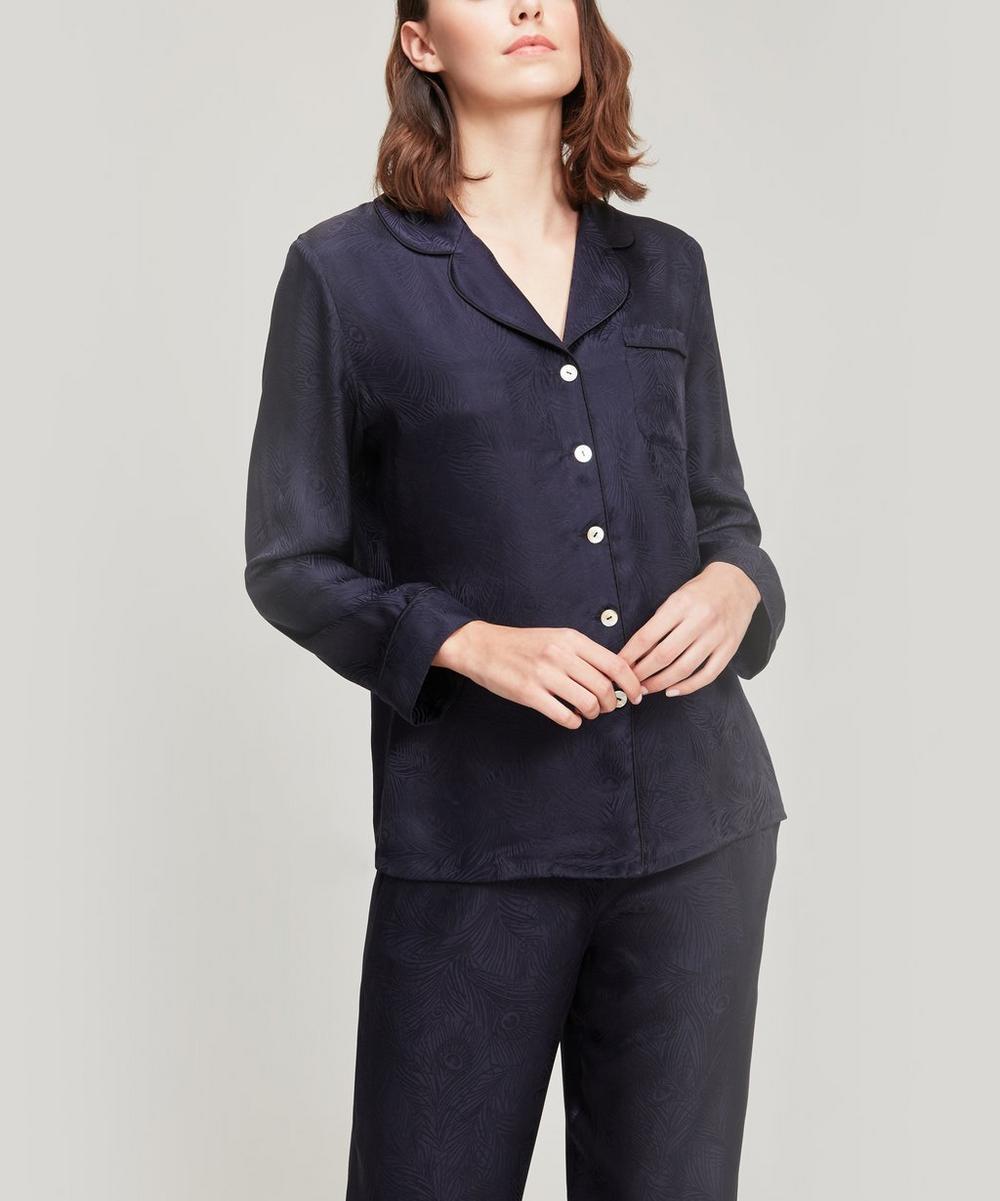 Liberty - Hera Silk Jacquard Pyjama Set