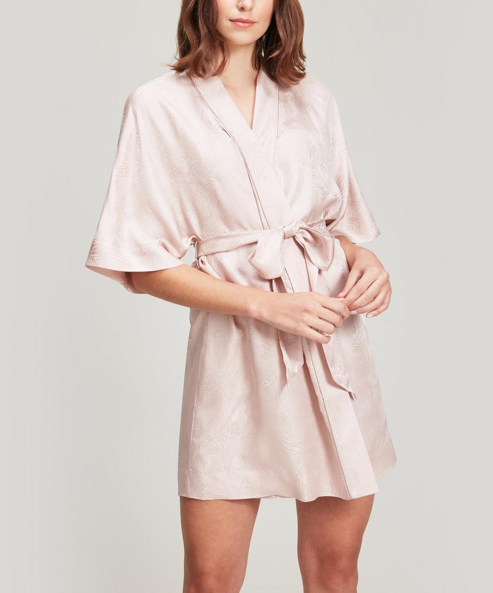 Liberty - Hera Silk Jacquard Short Kimono